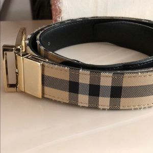 Men's Burberry belt but I think it can be unisex !